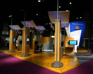 New York trade show displays